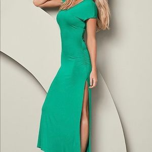 Summer Maxi Dress With Slit on Side